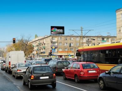 Telebim Plac Szembeka 1,Warszawa