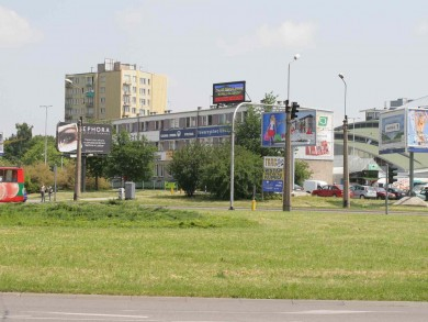 Telebim ul. Filaretów/ul. Zana,Lublin