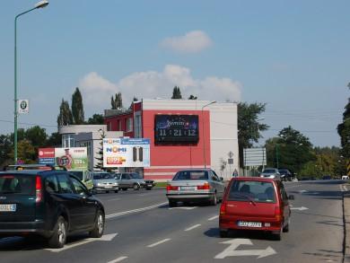 Telebim skrzyżowanie ulic Bielawska/ Piastowska,Dzierżoniów