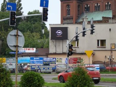 Telebim 1 Maja (gł. skrzyżowanie z ul. Staszica),Czeladź