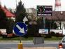 Telebim Rondo ul. Mickiewicza / Słowackiego,Leżajsk