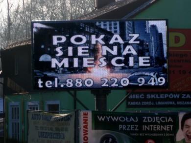 Telebim Kolbego,Mszana Dolna