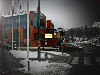 Telebim Galeria Handlowa ASKANA,Gorzów Wielkopolski