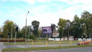 Telebim Piłsudskiego/Armii Krajowej,Skarżysko-Kamienna