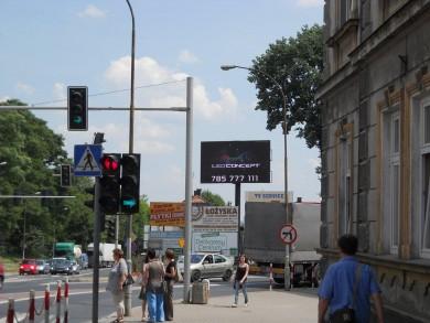 Telebim 3 Maja/ Mickiewicza,Jarosław