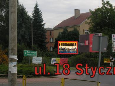 Telebim 18 Stycznia,Wieluń