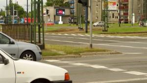 Telebim Rondo Czyżyńskie,Kraków