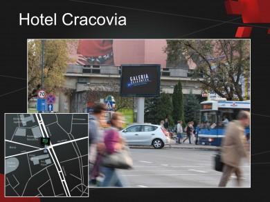 Telebim Hotel Cracovia,Kraków