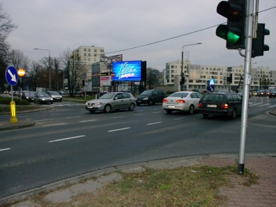 Telebim KIERUNEK GRODZISK MAZ. - Wojska Polskiego/Miry Sygetyńskiej,PRUSZKÓW