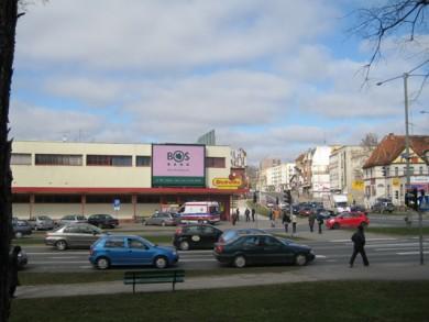 Telebim skrzyżowanie ul. Armii Krajowej z 12-go Lutego,Elbląg