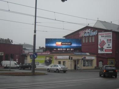 Telebim skrzyżowanie ul. Grunwaldzka z Lotniczą,Elblag
