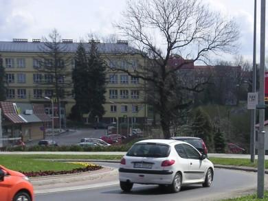 Telebim Rondo Beksińskiego,Sanok