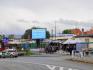Telebim ul. Kościuszki, przed targowiskiem, centrum miasta,Kłodzko