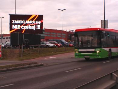 Telebim Al. Spółdzielczości Pracy,Lublin