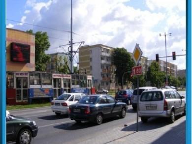 Telebim Skrzyżowanie ulic Kraszewskiego i Matejki,Toruń