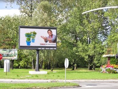 Telebim skrzyżowanie Pszczyńska/Pocztowa,Gliwice