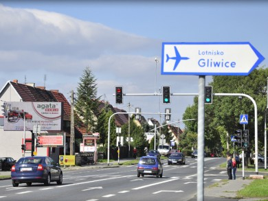 Telebim Rybnicka/Żurawia,Gliwice