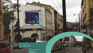 Telebim Długa,Kraków