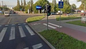 Telebim Roosevelta koło urzędu miasta,Inowrocław