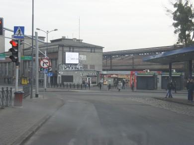 Telebim Dworzec PKP,Bytom