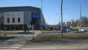Telebim ul. 26-tego Kwietnia-Al. Bohaterów Warszawy,Szczecin
