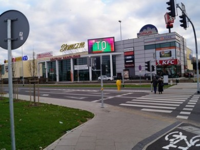 Telebim ul. A.Struga,Szczecin