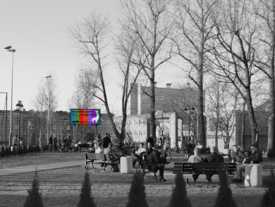 Telebim Katowicka/Oleska,Opole