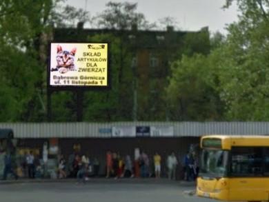 Telebim Dworzec autobusowy,Zabrze