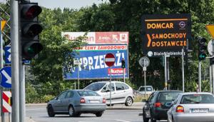 Telebim Dąbrowskiego,Poznań