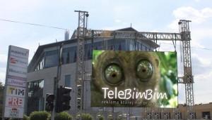 Telebim Al.Jerozolimskie/Ryżowa,Warszawa