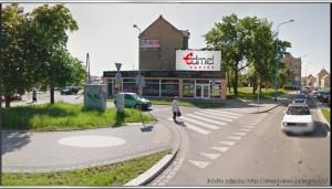 Telebim Fabryczna 13,Legnica